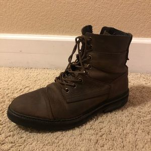 Used All Saints boots men.